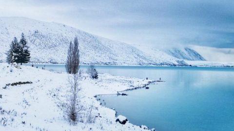 冬之赋丨新西兰,撷取散落的冬日色彩